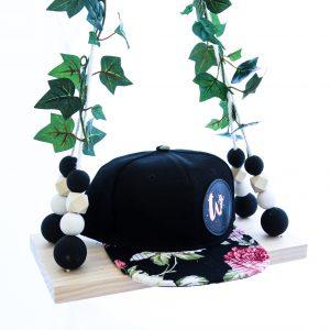 ONYX Floral Snapback
