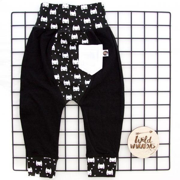 batman pants back